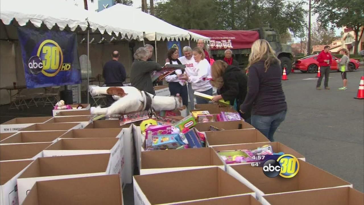 Toys for Tots Marathon Weekend kicks off at River Park