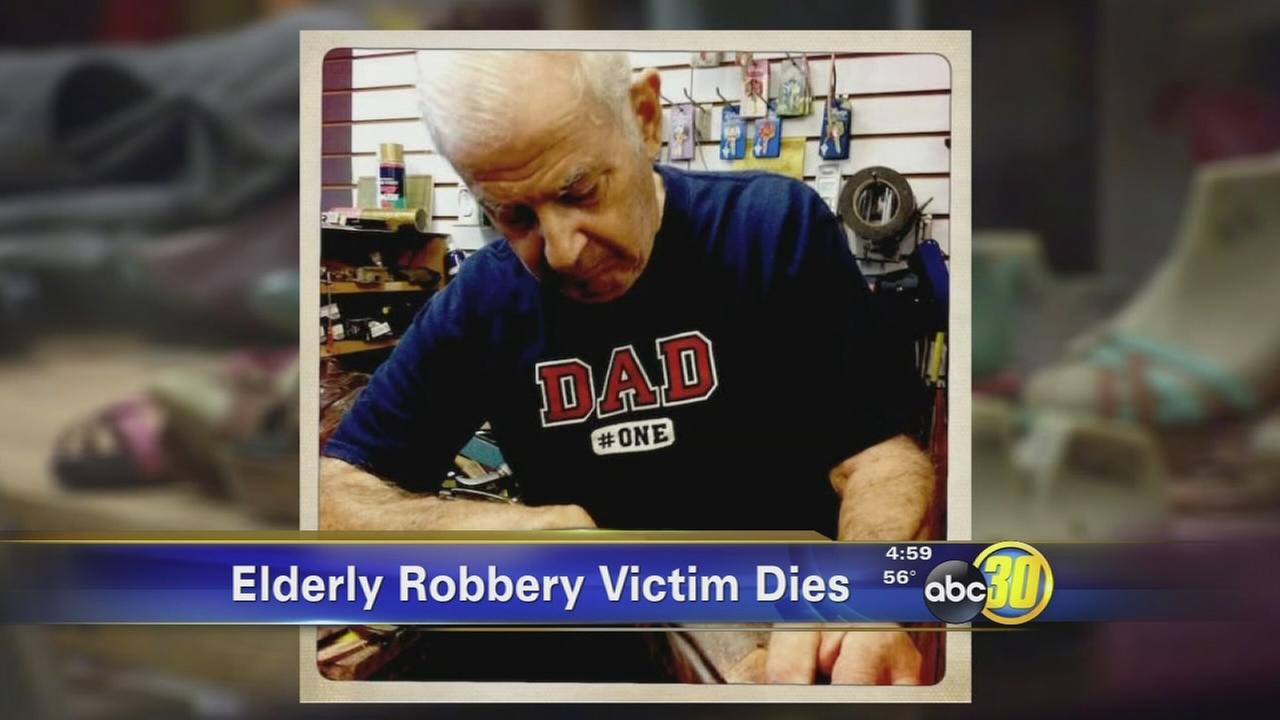 Fresno shoe maker has died following armed gun store robbery