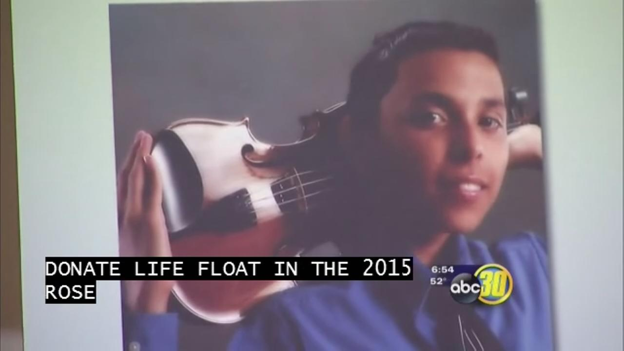 Porterville teen to be remembered on Rose Parade float