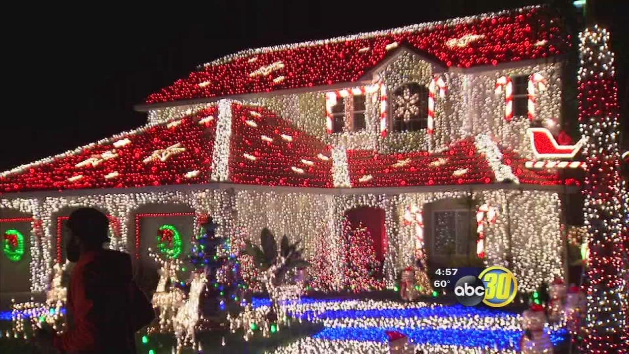 sanger family competes for 50000 on the great christmas light fight abc30com