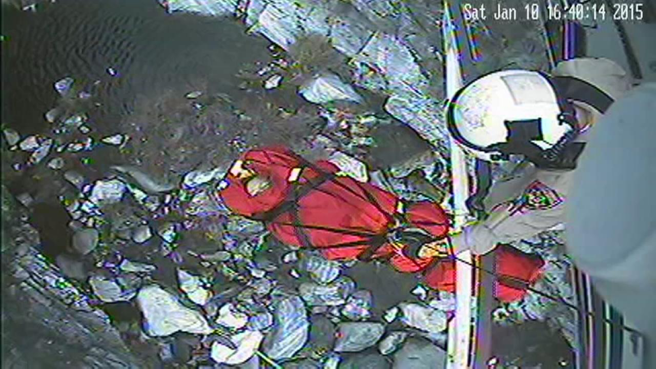 CHP helicopter rescues injured hiker from Kaweah River