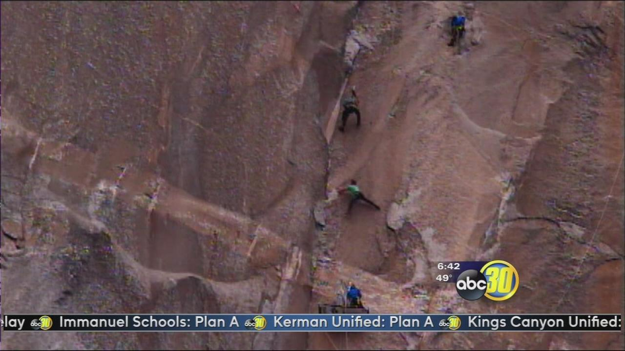 Tommy Caldwell and Kevin Jorgeson on the verge of El Capitan history
