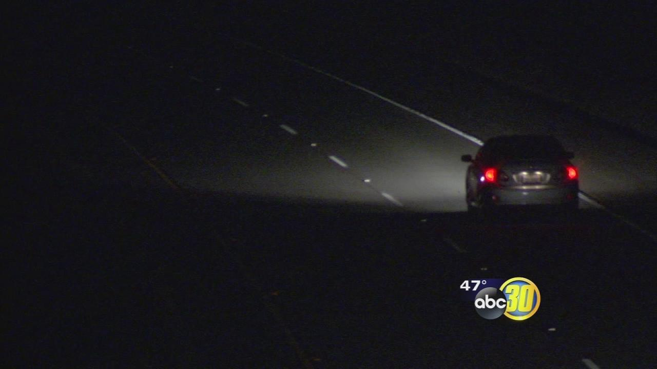 Caltrans working to repair lights damaged by metal theives