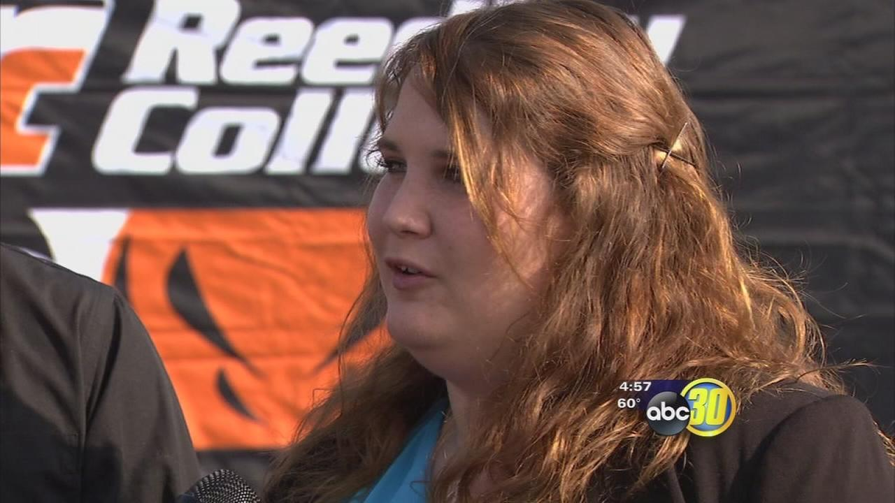 Reedley College students live on the farm