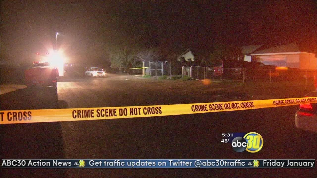 2 men shot, 1 killed in Terra Bella