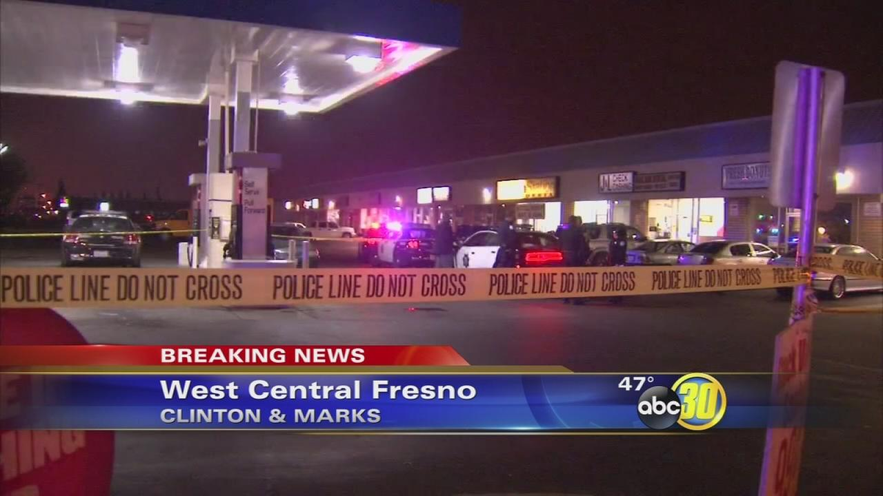 Girl, 9, shot in front of West Central Fresno laundromat