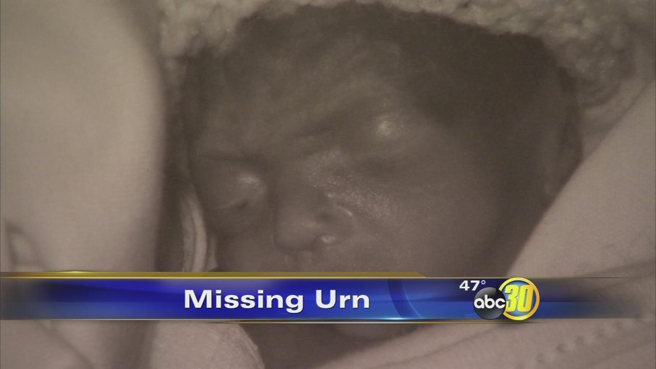 Burglar steals urn with childs ashes from Clovis home
