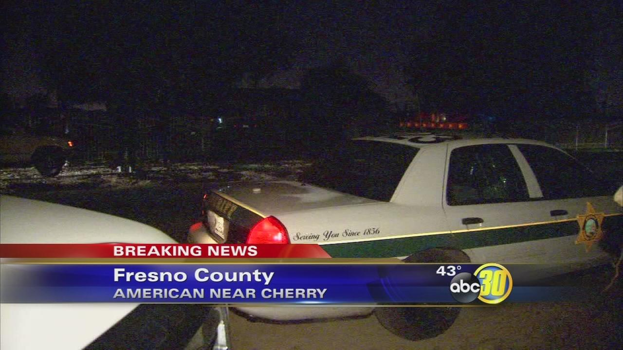 Girl dies after being found hanging from security bars at Fresno County home