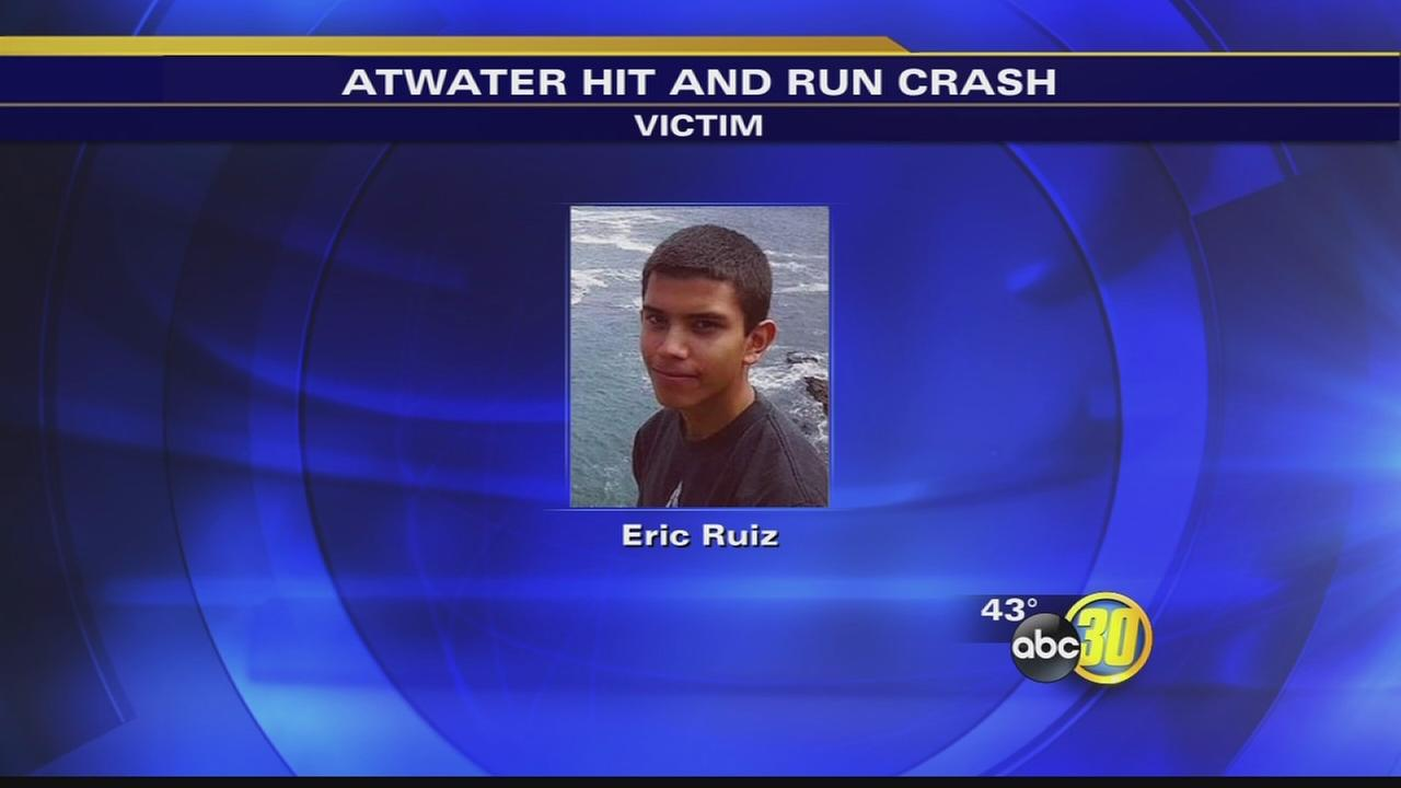 Hit-and-run driver sought in Atwater crash that killed teenage boy