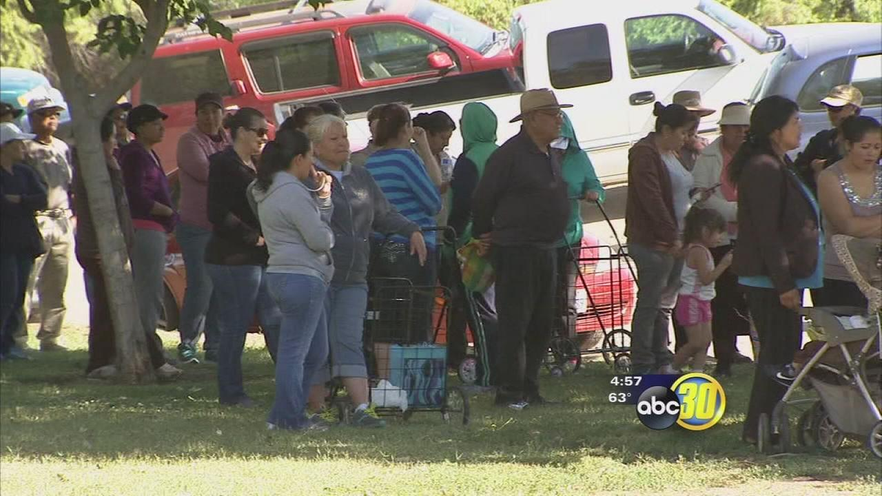 Tsunami relief diverted to Valley needy