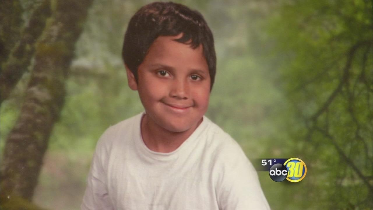 Parlier boy hit, killed by truck mourned at vigil