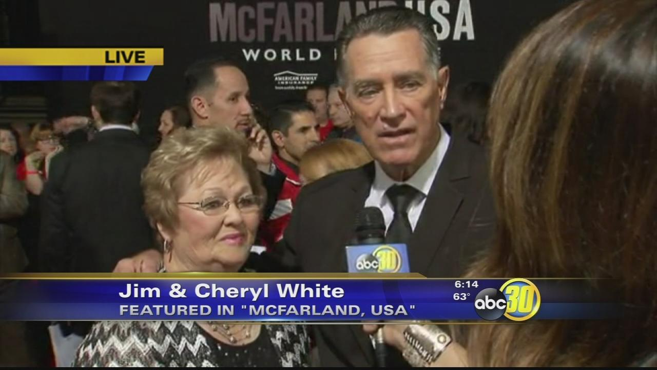 Red carpet rolls out for opening night of McFarland, USA