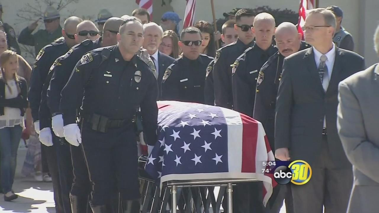 exeter cop funeral