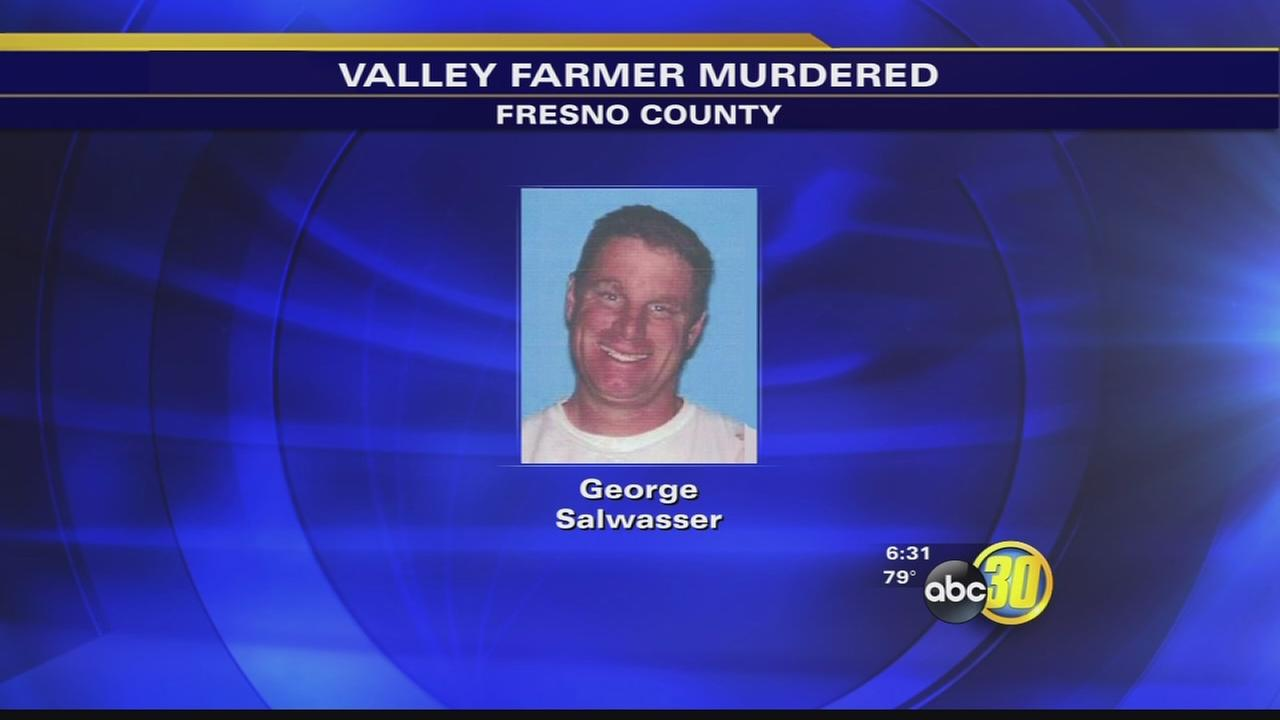 2 arrested, 1 sought in murder of Valley farmer