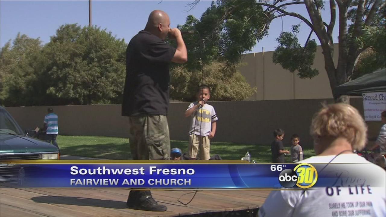 Stop the Violence event draws hundreds to Southwest Fresno