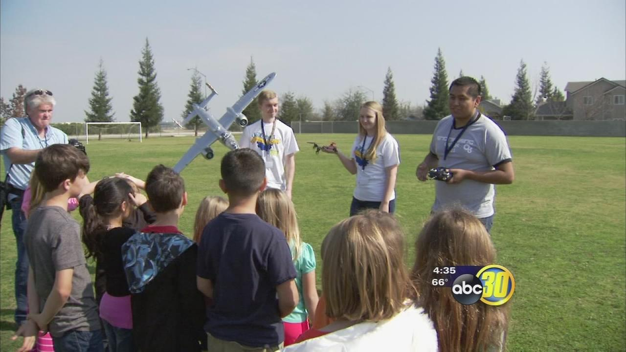 UC Merced gets Clovis students interested in science