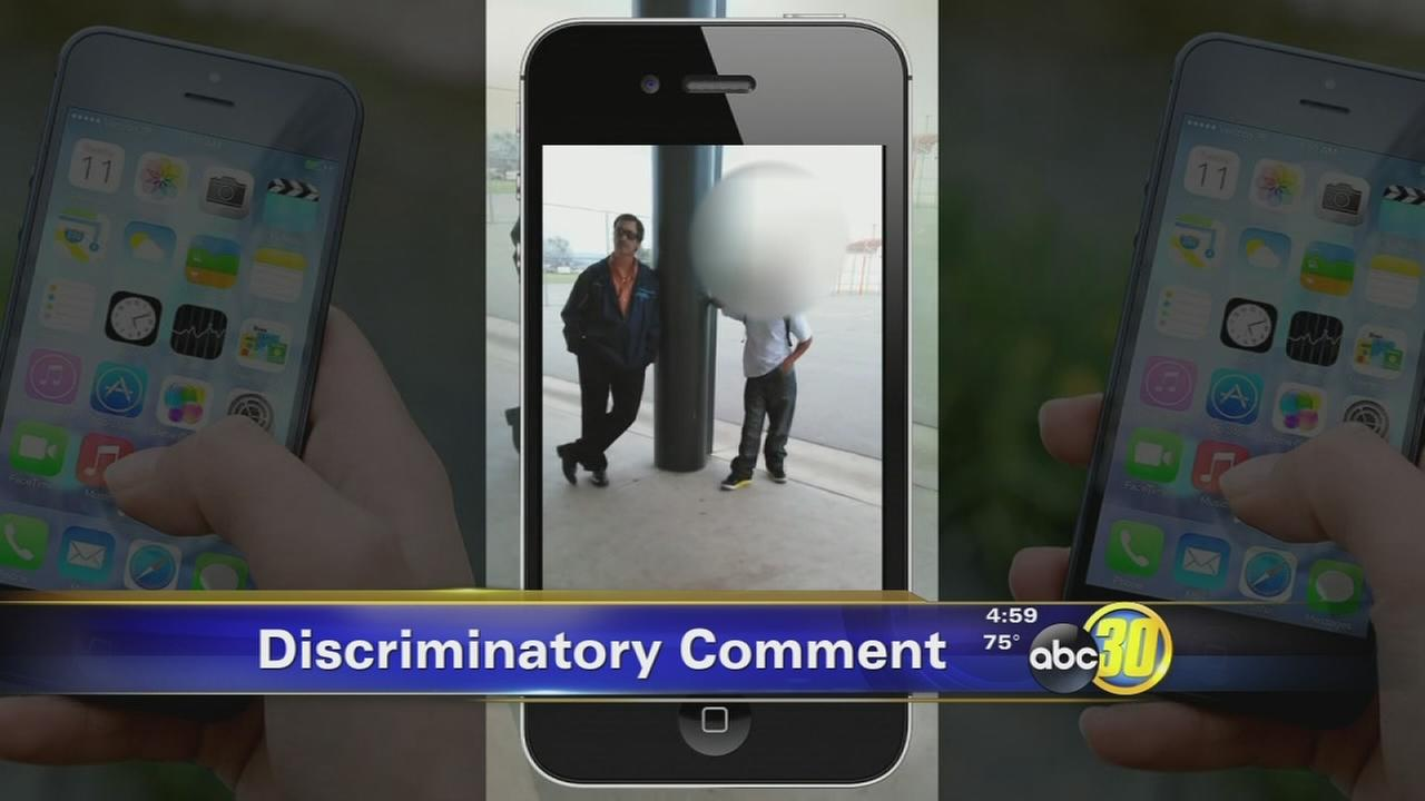 Fresno vice principal on leave after saying I just dont like the black kids on cellphone video