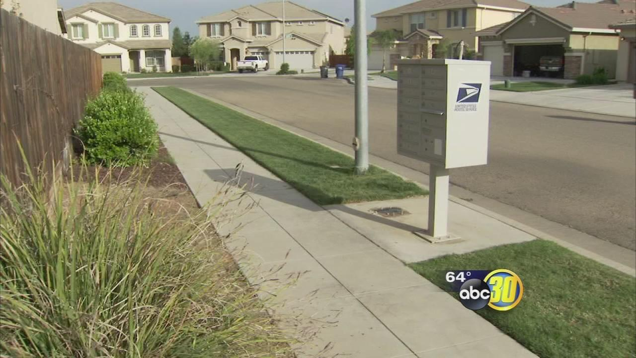 Community mailbox stolen in East Central Fresno