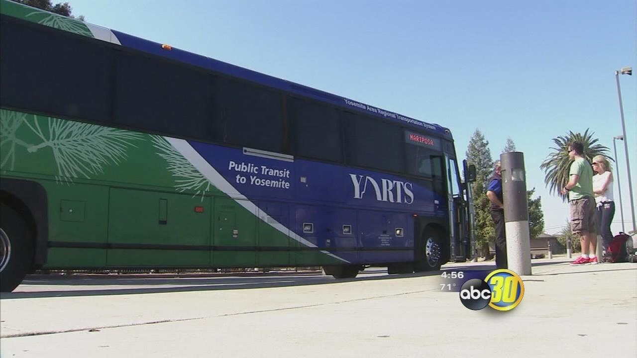 Bus service from Fresno to High Sierra begins in summer