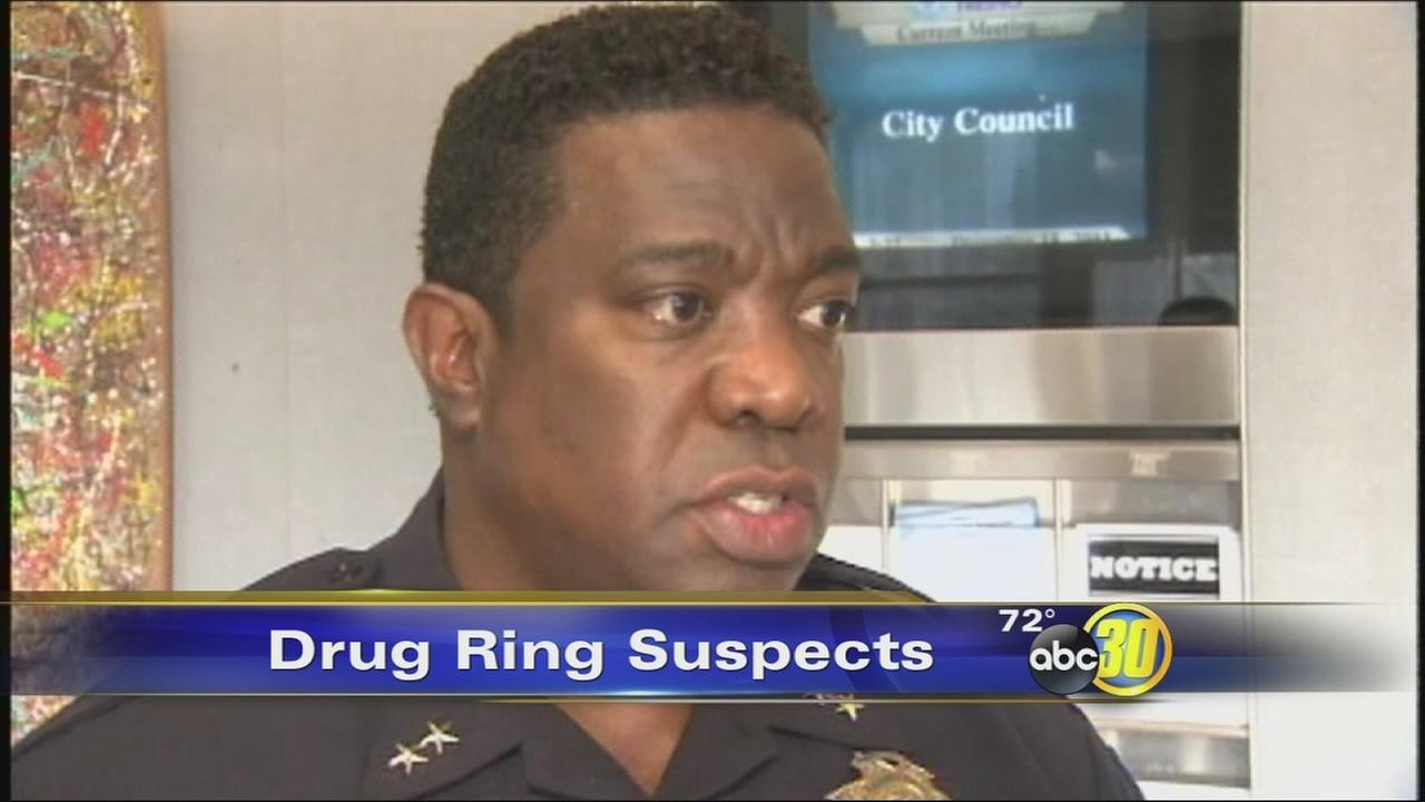 Alleged drug ring in Fresno: Relationship between Police Deputy Chief Keith Foster, other suspects
