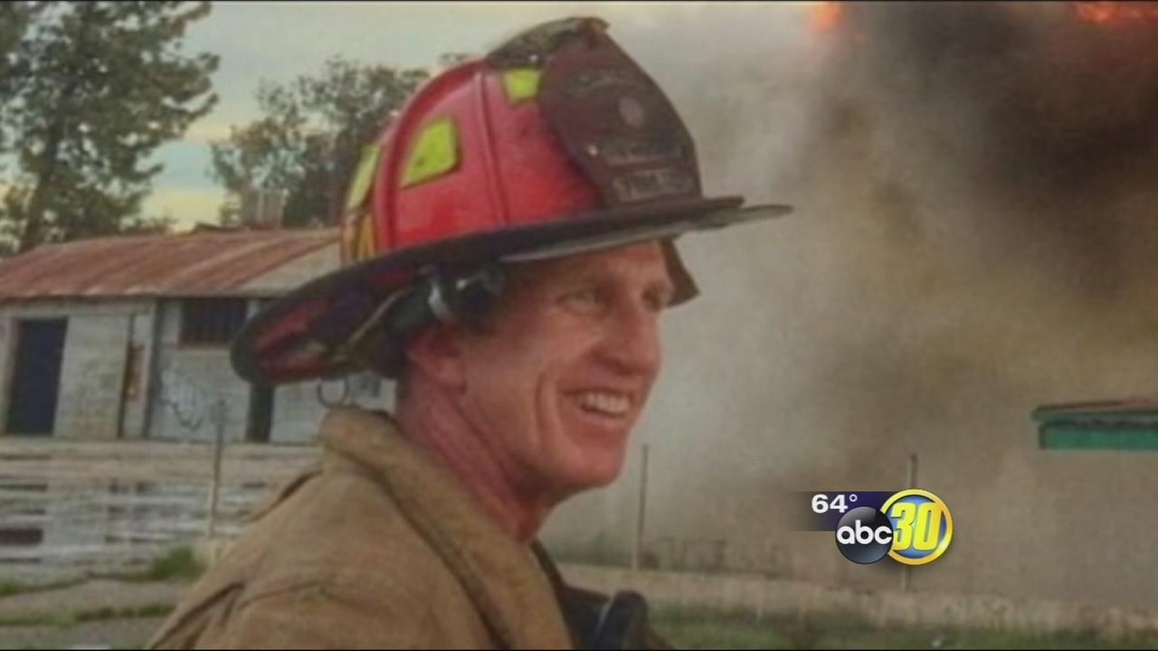 Donations spike for injured Fresno Fire Captain Pete Dern