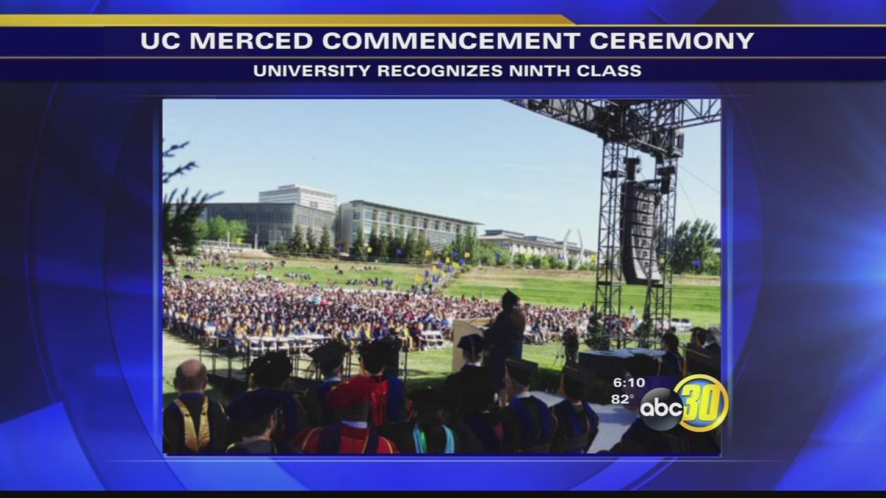 UC Merced students take part in 2nd 2014 commencement ceremony