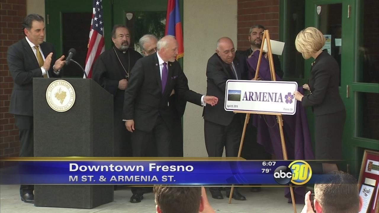 Armenia Street unveiled in Downtown Fresno