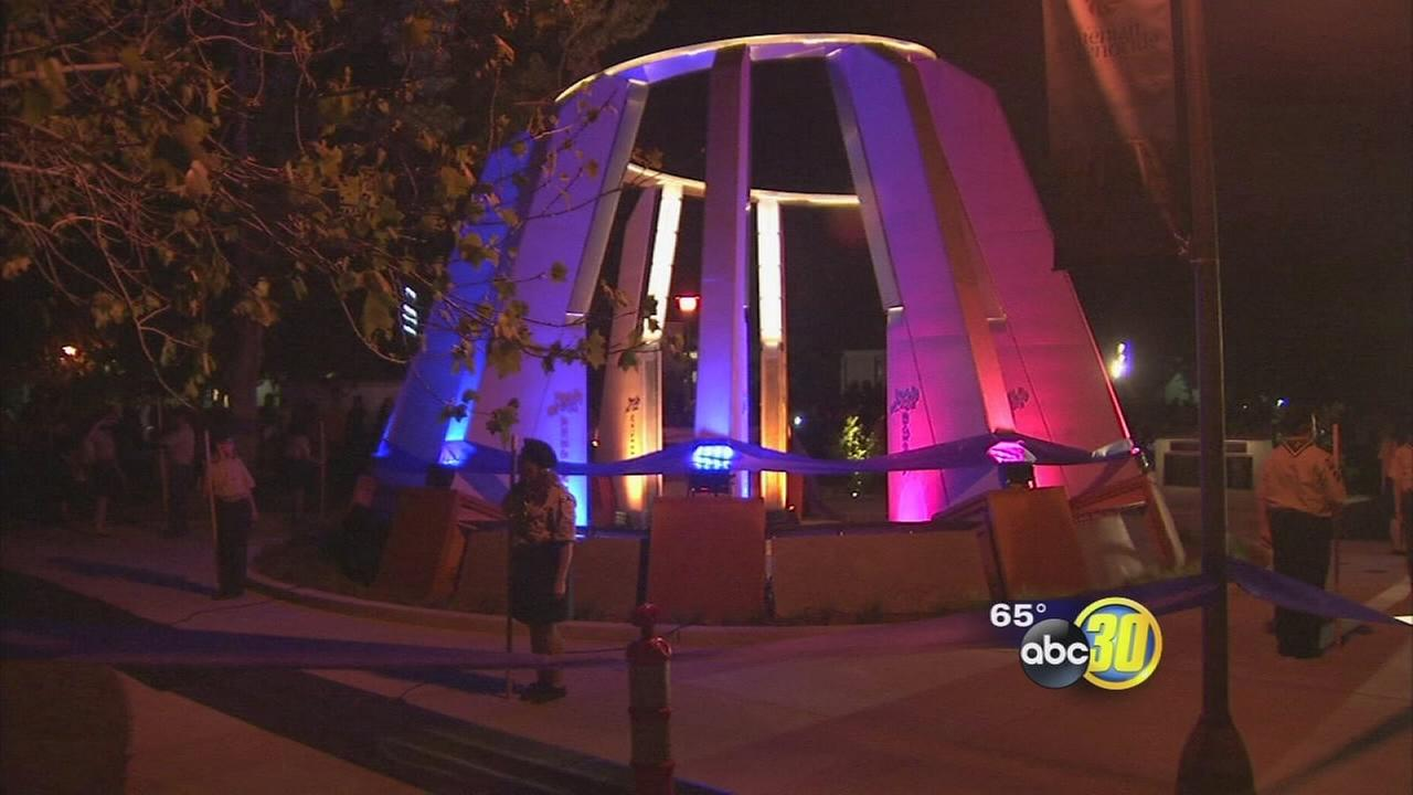 Armenian genocide monument unveiled at Fresno State