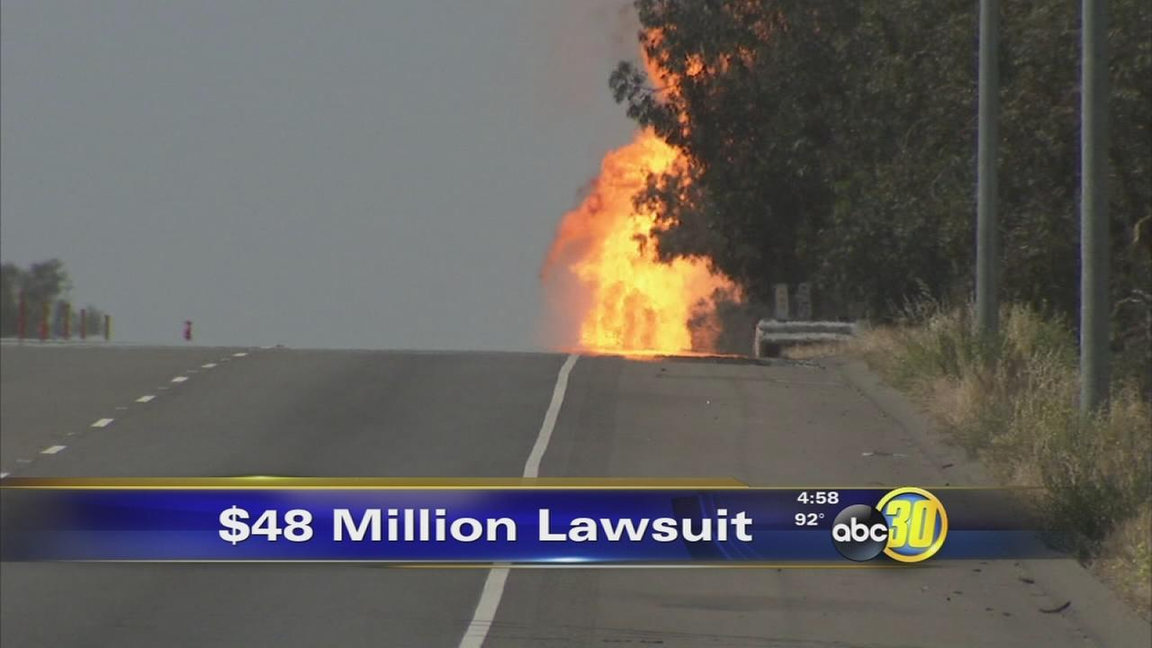 Inmates seek more than $48 million in Fresno gas explosion lawsuit