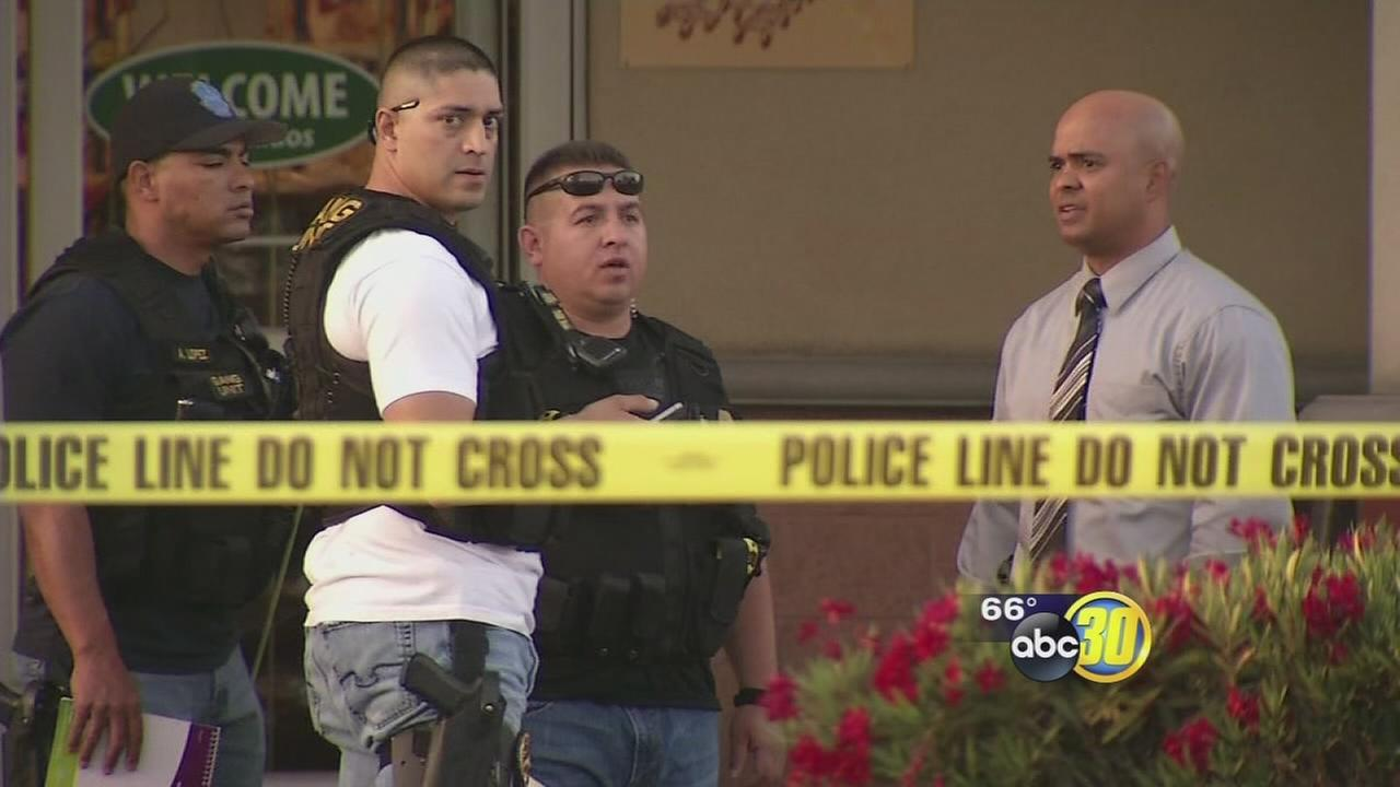 2 shot, including employee, at busy Foods Co in Tulare