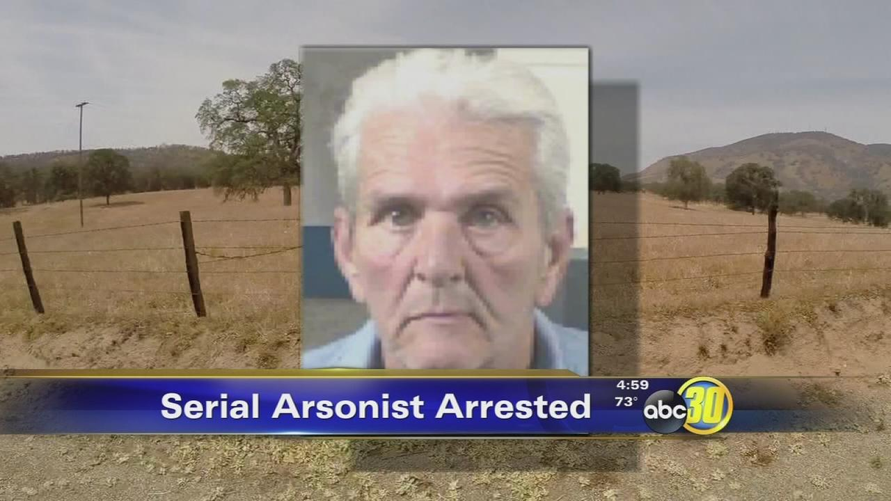 Squaw Valley man arrested on 30 counts of arson