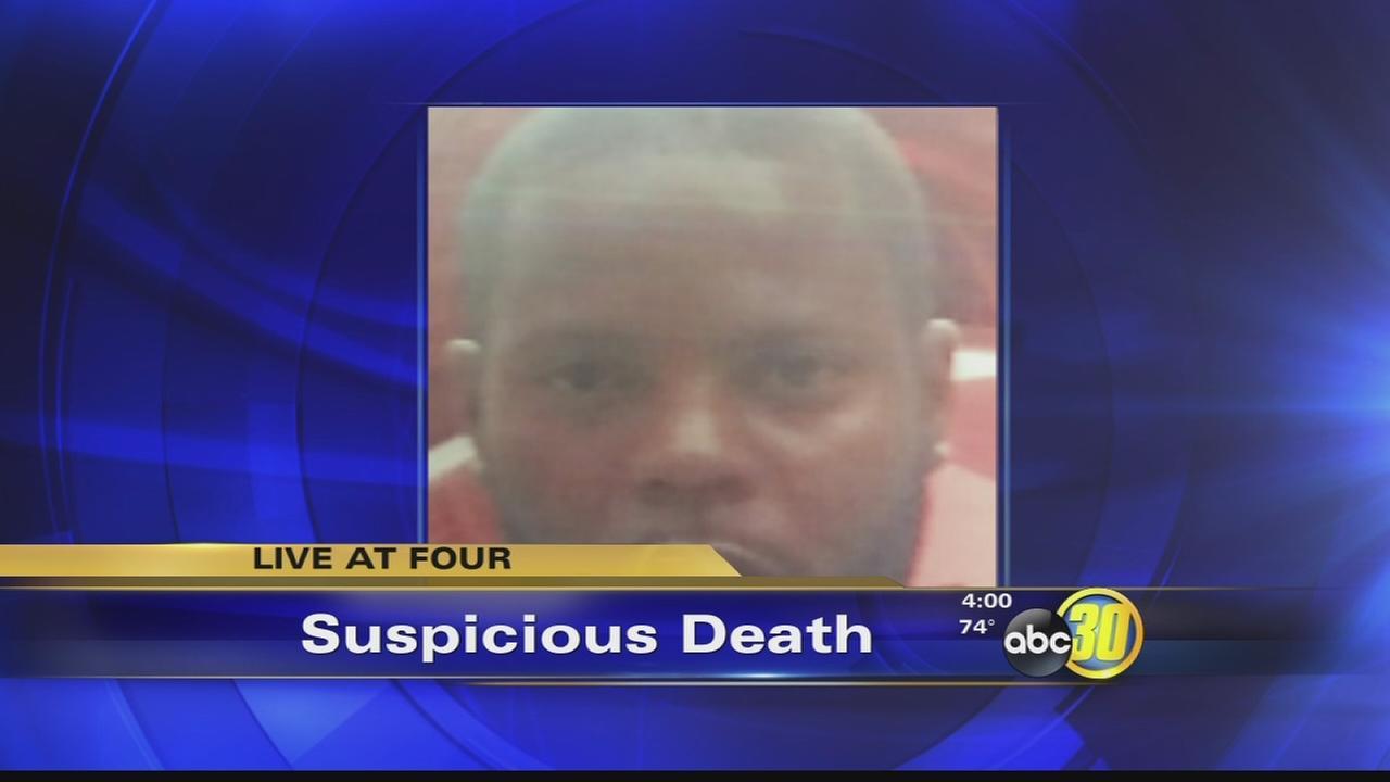 suspicious death tulare