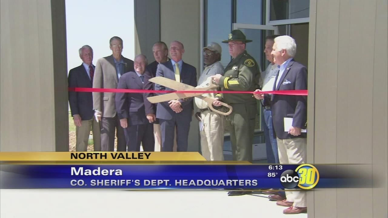 Ribbon Cutting Ceremony held for Madera County Sheriffs Office headquarters