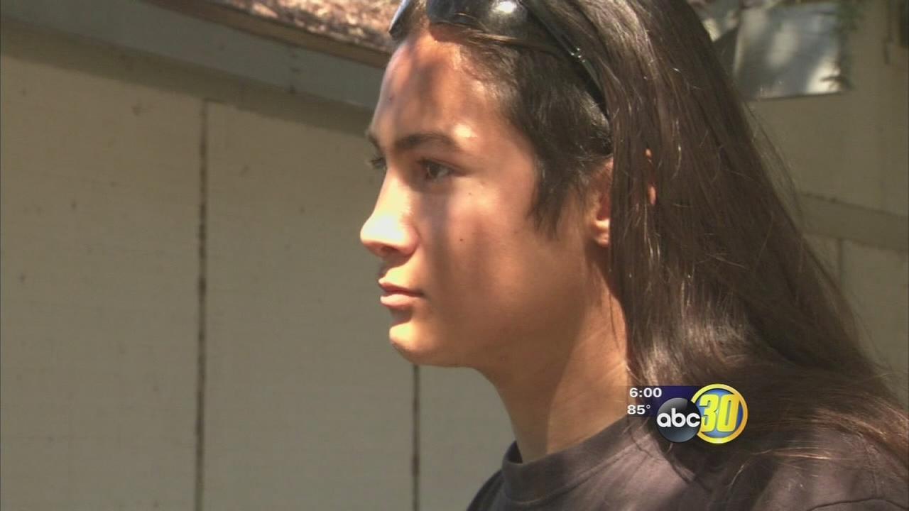 Native American Clovis High senior says school wont let him wear feather