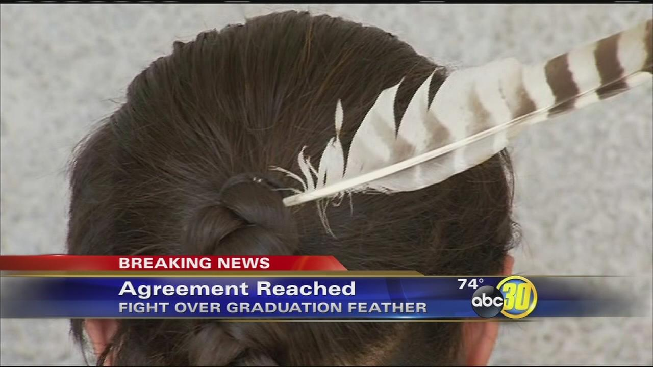 Clovis Unified Reached An Agreement With A Native American Student Who Wants To Wear Feather His Graduation Abc30