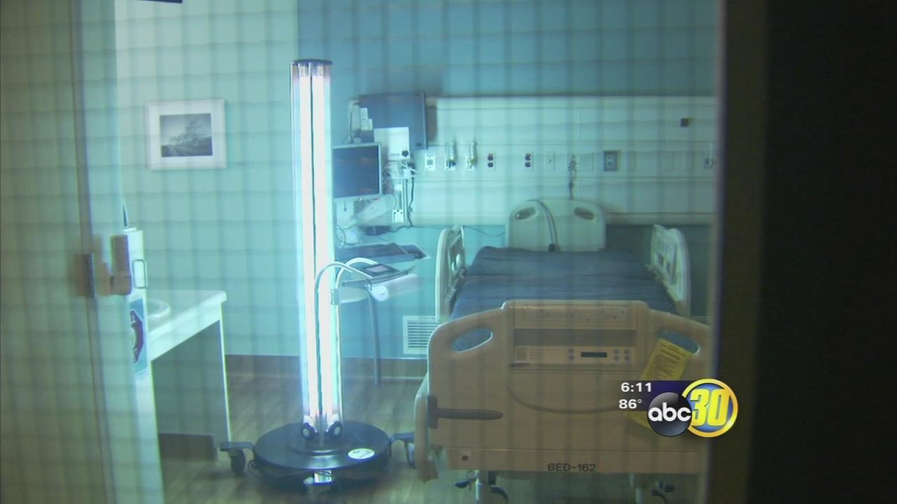 Fresno hospitals zapper gets rid of deadly bacteria