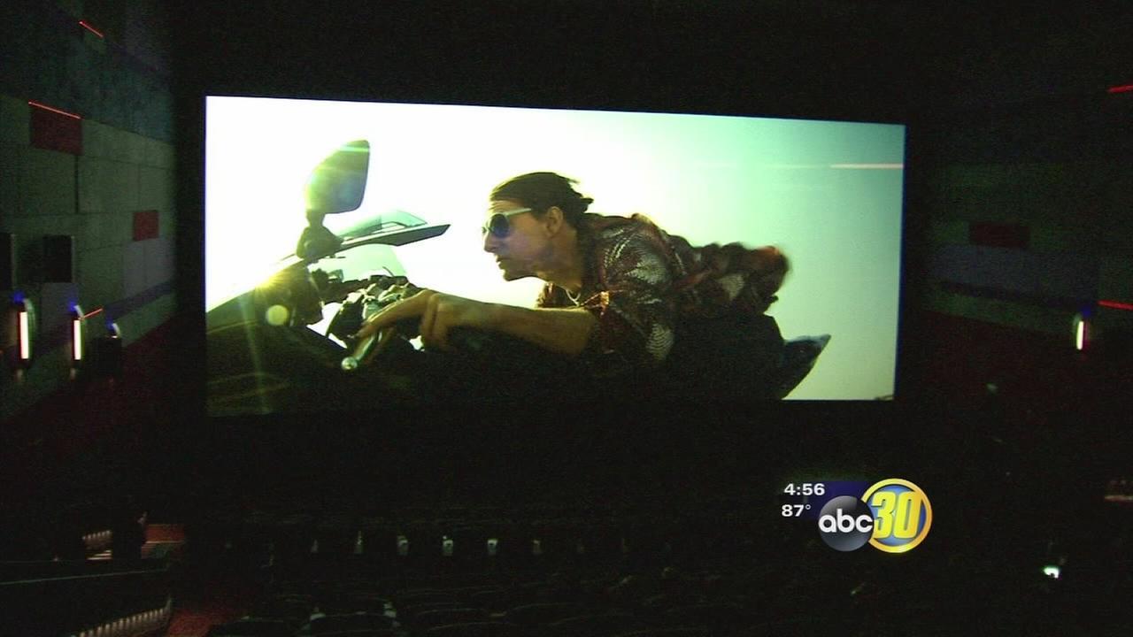 Maya Cinemas gives ABC30 a sneak peek at its MPX screen