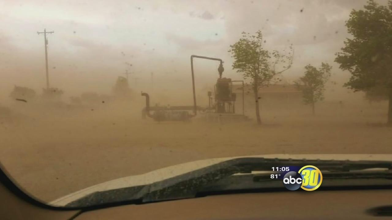 Severe storms hit Kern County
