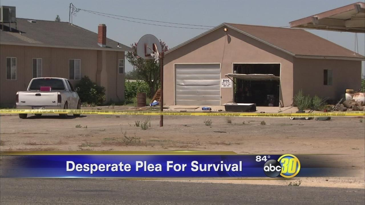 Womans throat slashed, husband also attacked in Fresno County