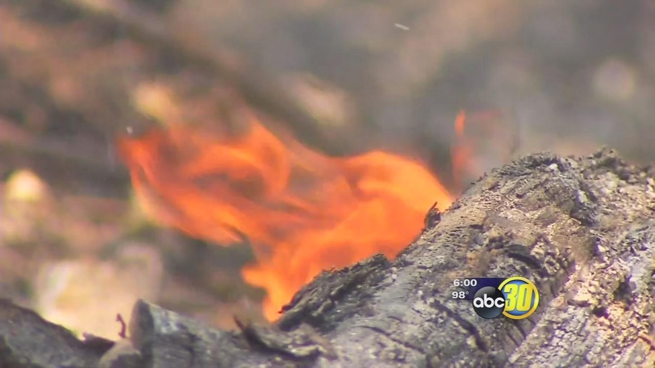 Sky Fire near Oakhurst grows to 538 acres
