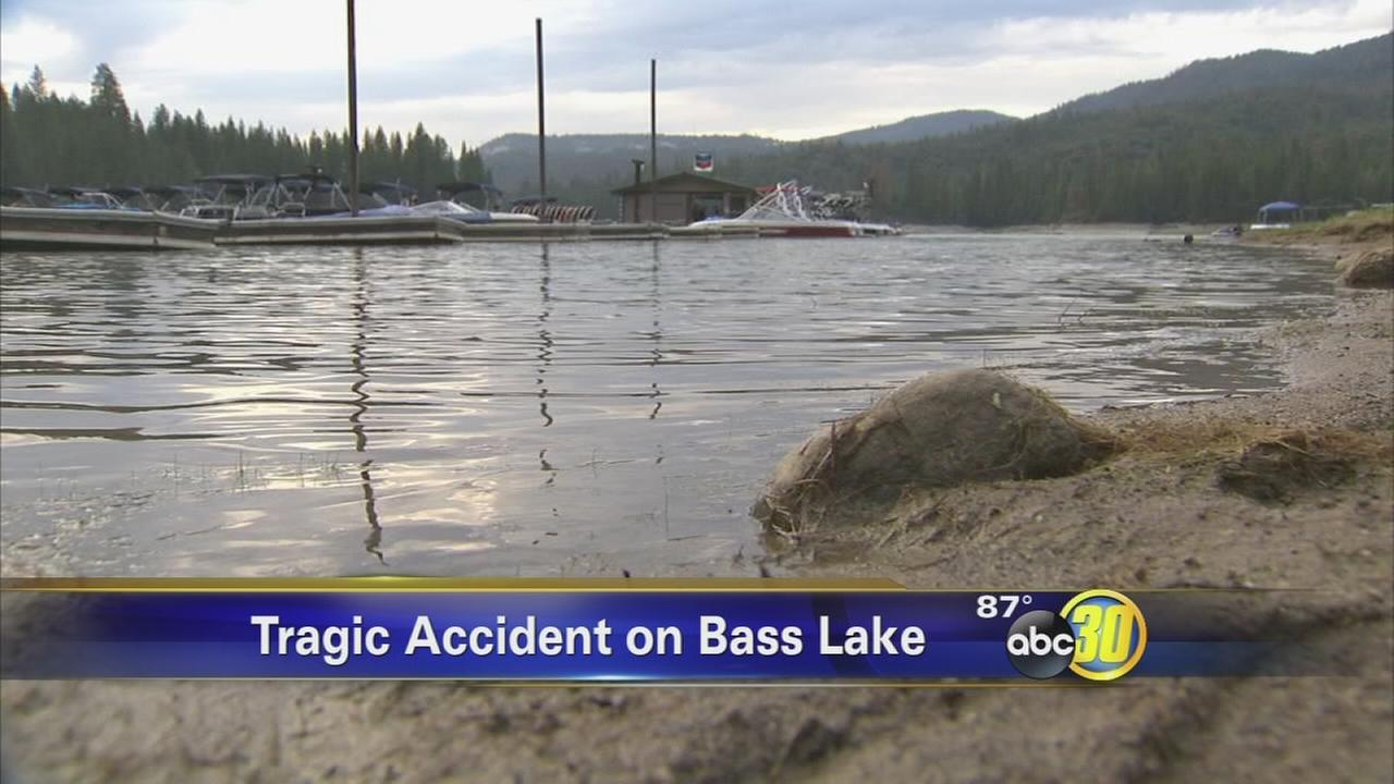 Boy, 13, dies in boating accident on Bass Lake