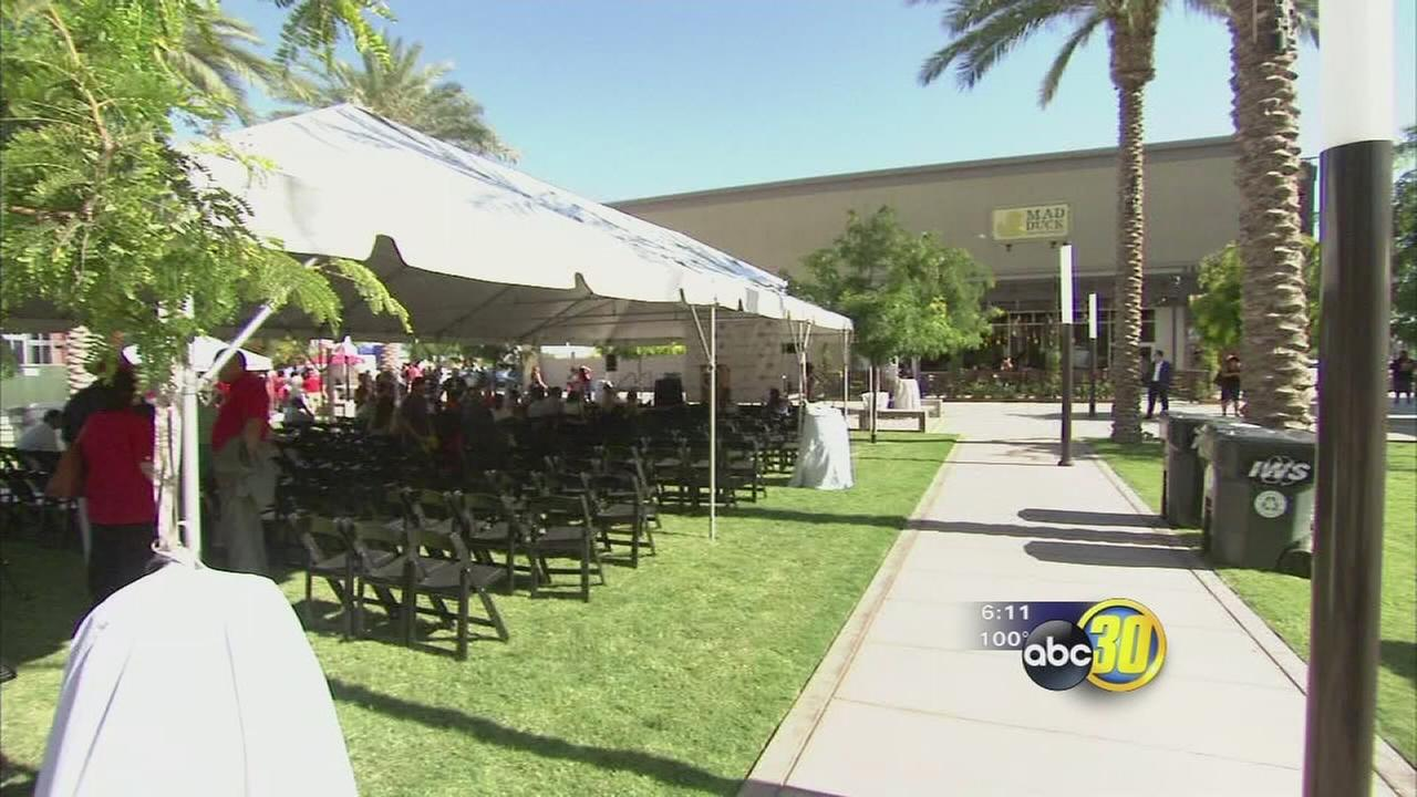 Square at Campus Pointe holds grand opening celebrations