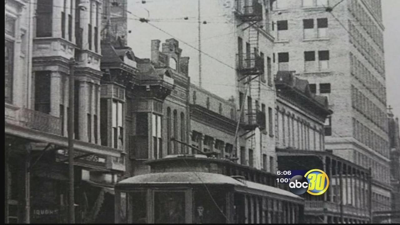 Downtown Fresno enthusiasts restoring piece of history