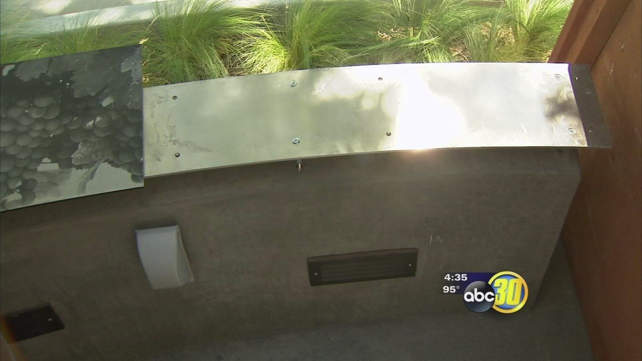 Theft attempt at Armenian Genocide Memorial Monument at Fresno State