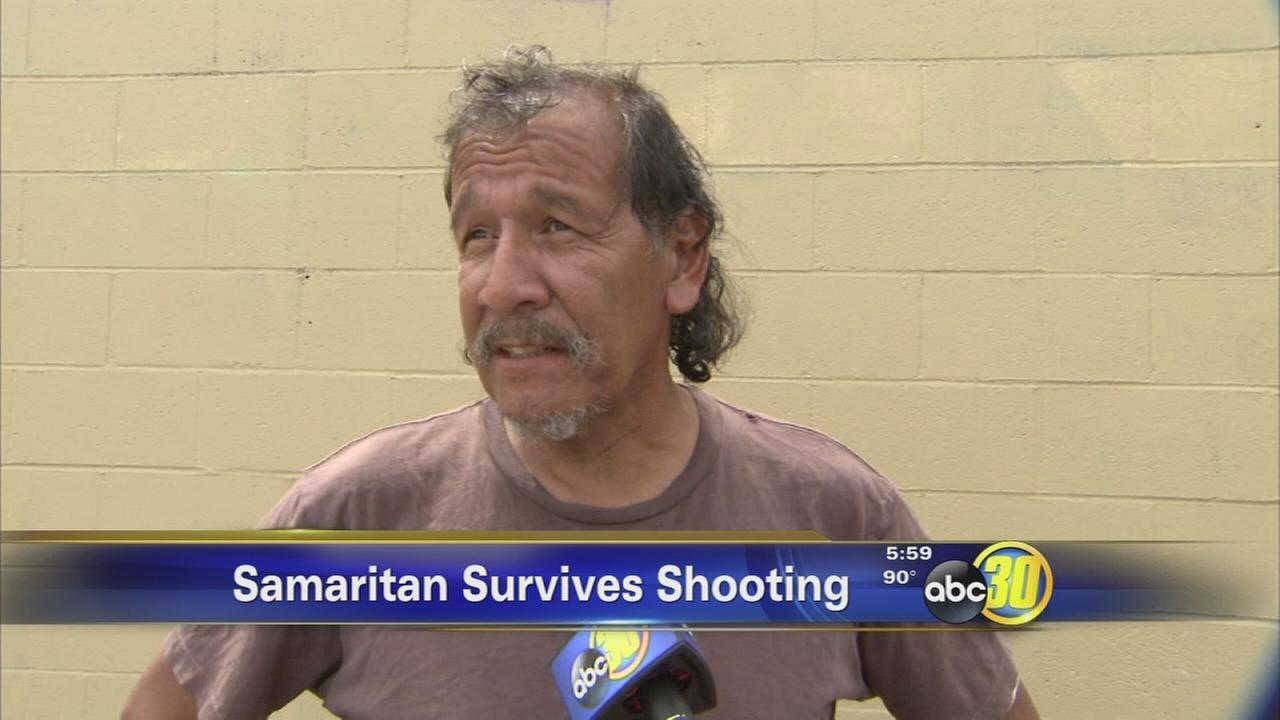 Armed homeless man credited with saving Fresno teens life in attack