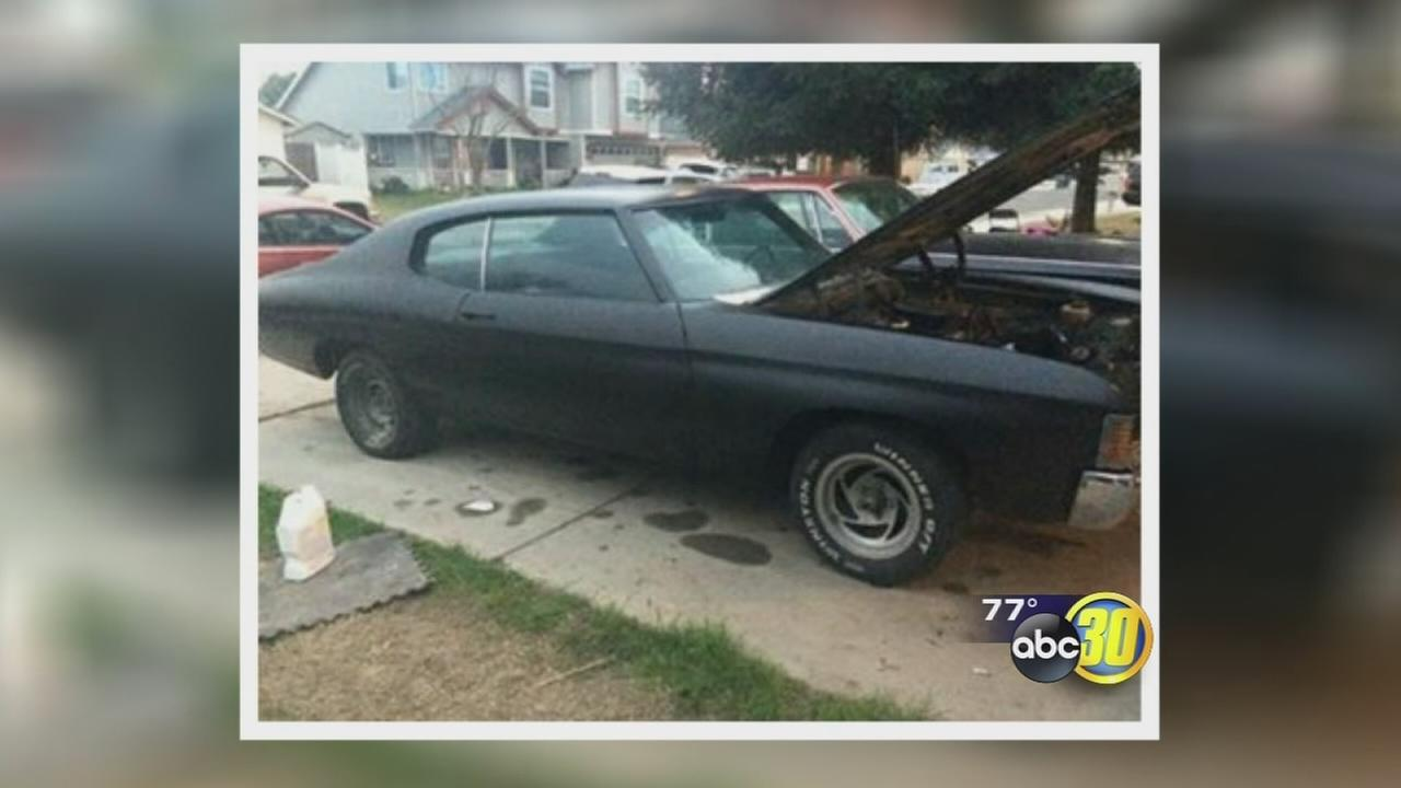 Muscle car stolen from Fresno father and son