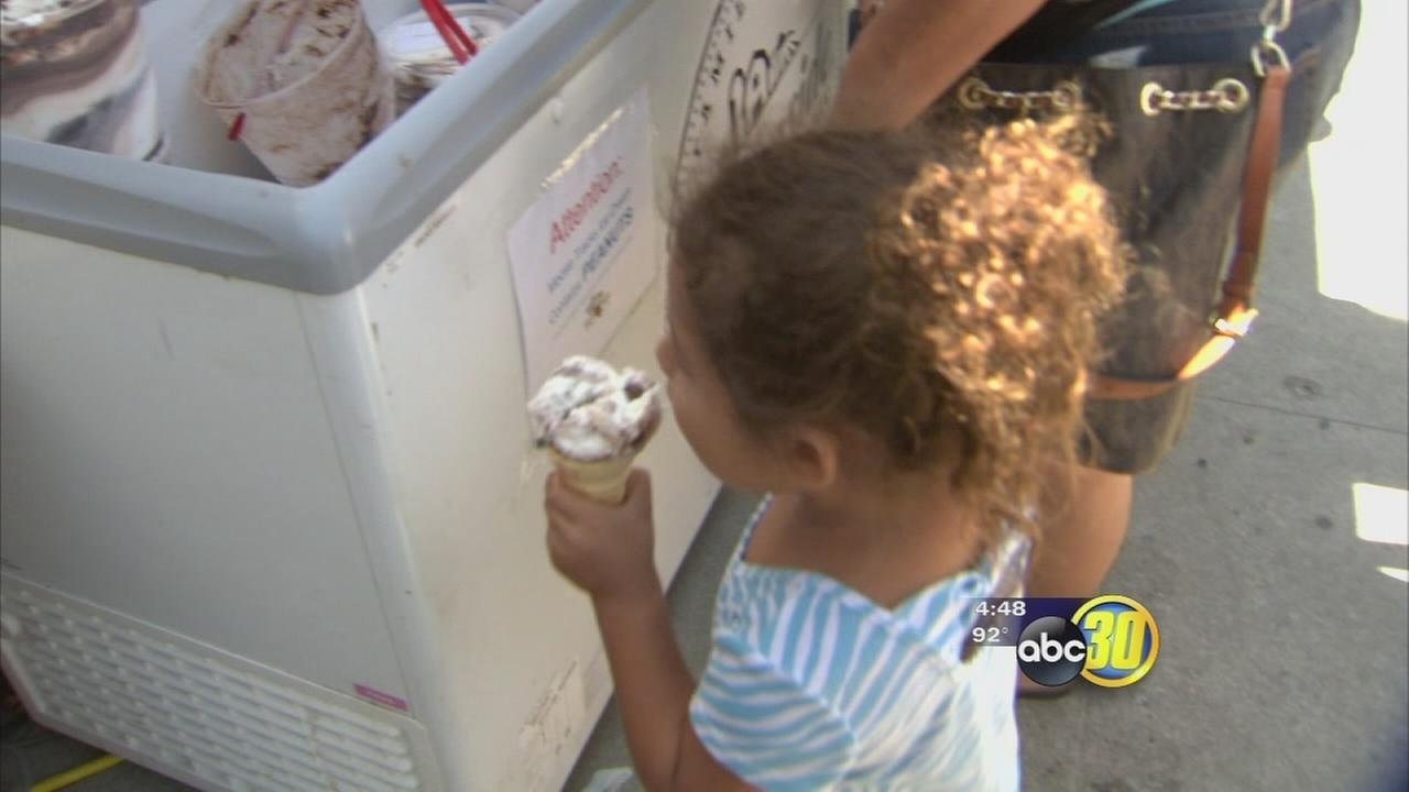 Fresno Ice Cream Giveaway Benefits Salvation Army