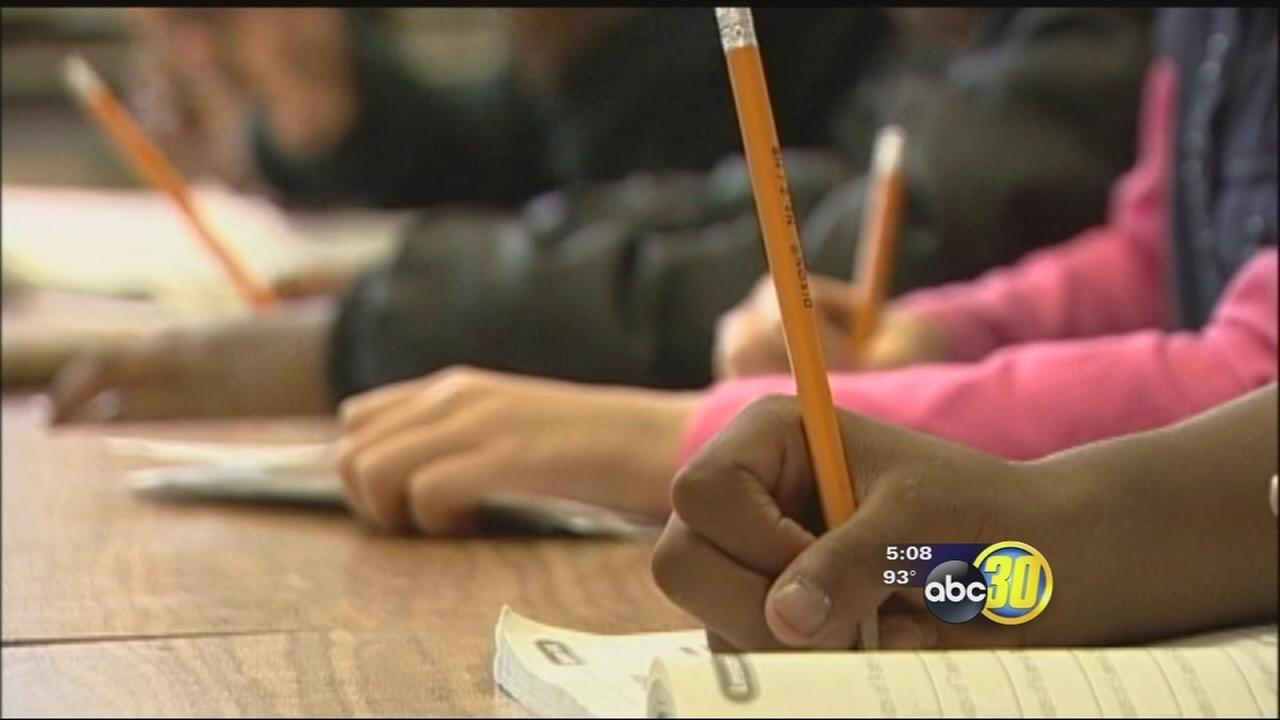 File photo shows children in a Fresno Unified classroom.