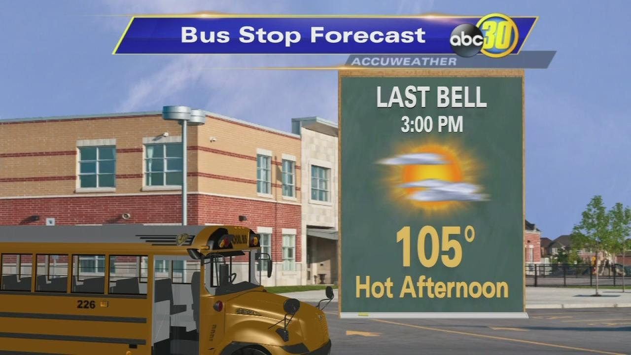High temperatures and air quality a concern as students head back to school
