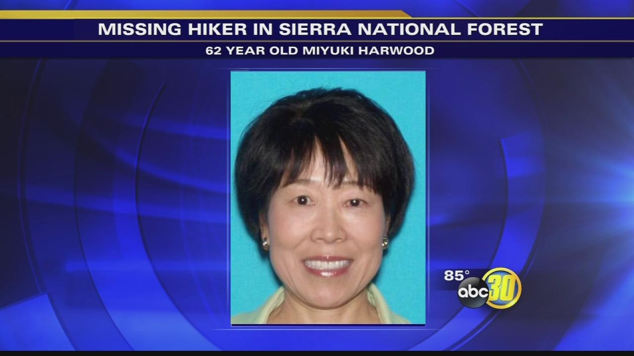 Search continues for missing hiker in Sierra Natl Forest